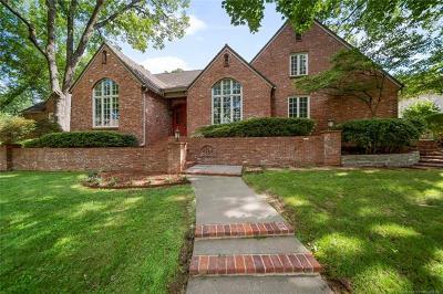 Tulsa Single Family Home For Sale: 4124 E 98th Street