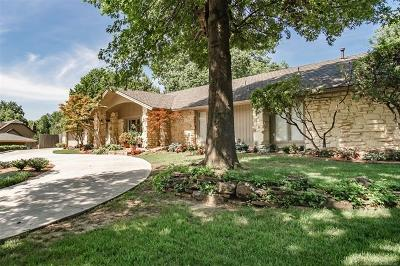 Tulsa Single Family Home For Sale: 7336 S College Place