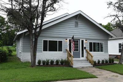 Sapulpa Single Family Home For Sale: 207 W McKinley Avenue