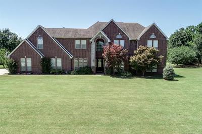 Broken Arrow Single Family Home For Sale: 22722 E 78th Street S