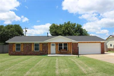 Sand Springs Single Family Home For Sale: 1822 Town And Country Drive