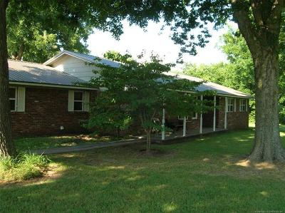 Fort Gibson Single Family Home For Sale: 1550 E River Road