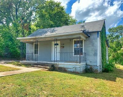 Sapulpa Single Family Home For Sale: 114 N Mounds Street