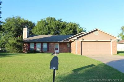 Muskogee Single Family Home For Sale: 1614 Beaver Road