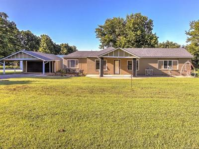 Tulsa Single Family Home For Sale: 18002 E 12th Street