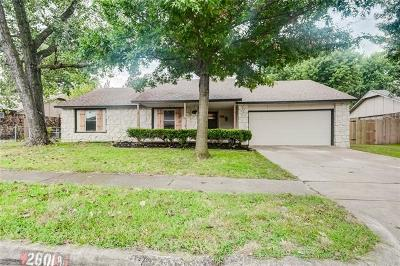 Broken Arrow Single Family Home For Sale: 2601 E Dallas Street