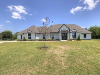 Owasso Single Family Home For Sale: 15519 E 82nd Street North
