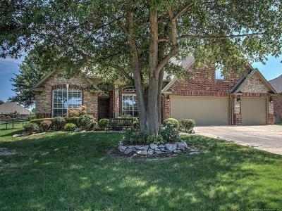 Broken Arrow Single Family Home For Sale: 4205 S Redbud Place