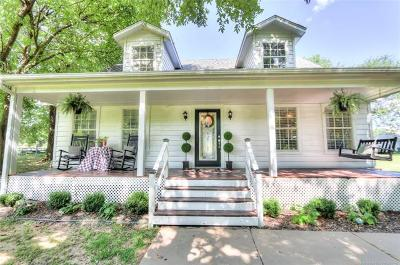 Mounds Single Family Home For Sale: 20727 S Lewis Avenue