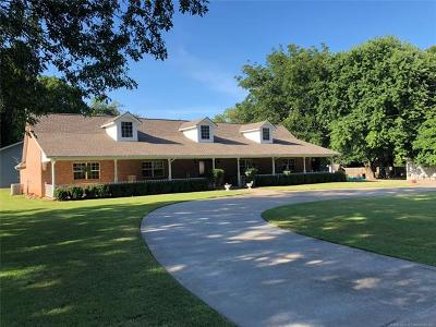 Muskogee Single Family Home For Sale: 3212 Fort Davis Place