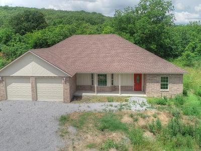 Pryor Single Family Home For Sale: 1091 N 4266 Road