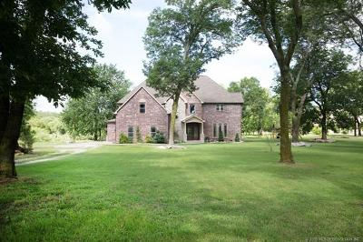 Claremore Single Family Home For Sale: 19668 S 4094 Road