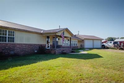 Muldrow Single Family Home For Sale: 476288 E 1085 Road