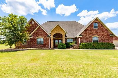 Okmulgee County Single Family Home For Sale: 17613 Redbud Lane