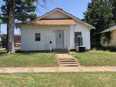 Okmulgee Single Family Home For Sale: 315 S Central Avenue
