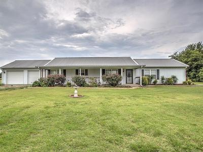 Okmulgee Single Family Home For Sale: 15880 Ash Road