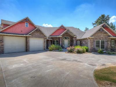 Sand Springs Single Family Home For Sale: 1426 Water Tower Road