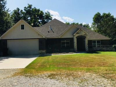 Claremore Single Family Home For Sale: 14980 S 4180 Road
