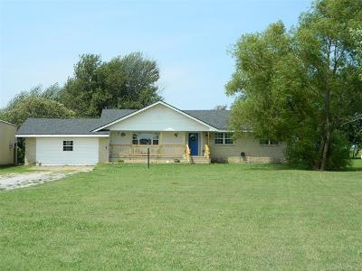 Collinsville Single Family Home For Sale: 16910 N 113th East Avenue