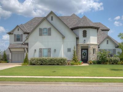 Jenks Single Family Home For Sale: 12805 S 4th Place
