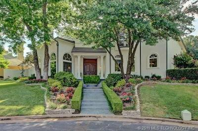 Tulsa Single Family Home For Sale: 7529 S Gary Place
