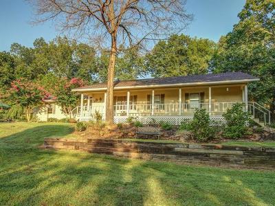 Hulbert OK Single Family Home For Sale: $160,000