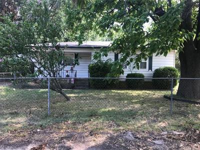 Ada Single Family Home For Sale: 931 W 13th Street