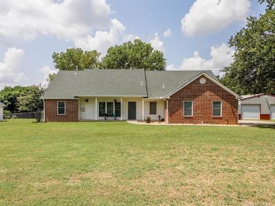 Bristow Single Family Home For Sale: 18620 S 344 West Avenue