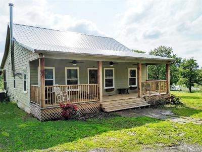 Okmulgee County Single Family Home For Sale: 13300 Edwards Road