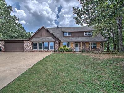 Sapulpa Single Family Home For Sale: 2521 Thunderbird Lane