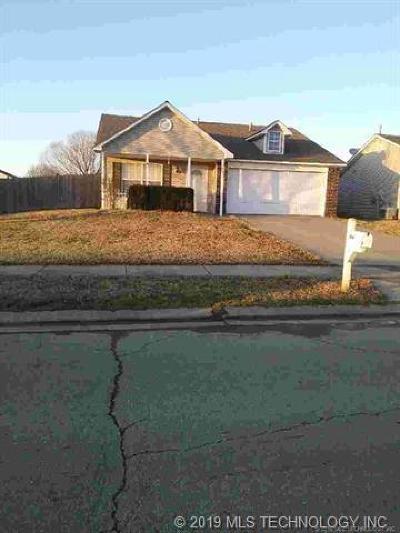 Owasso Single Family Home For Sale: 15007 E 89th Street North