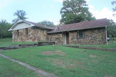 Okmulgee County Single Family Home For Sale: 2760 Turkey Pen Road