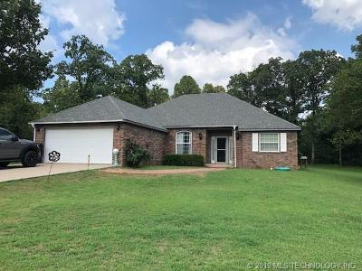 Fort Gibson OK Single Family Home For Sale: $269,000