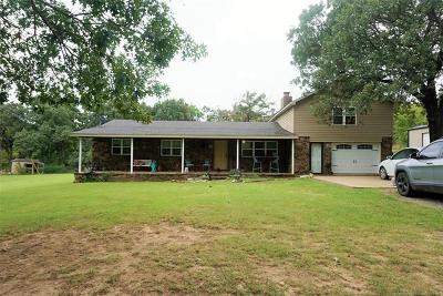 Okmulgee County Single Family Home For Sale: 13350 New Lake Road
