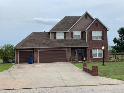 Collinsville Single Family Home For Sale: 14841 N 60th East Avenue