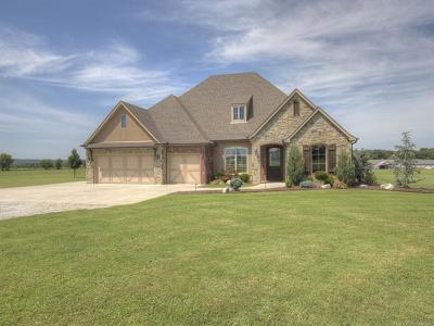 Claremore Single Family Home For Sale: 21800 S 4190 Road