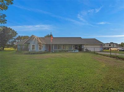 Rogers County, Mayes County, Tulsa County Single Family Home For Sale: 14454 S Meadow View Road