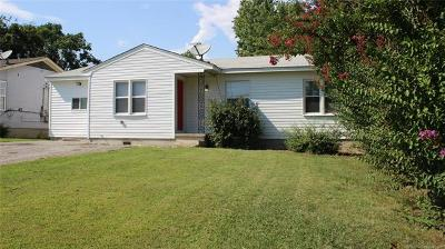 Rogers County, Mayes County, Tulsa County Single Family Home For Sale: 6943 E 10th Street
