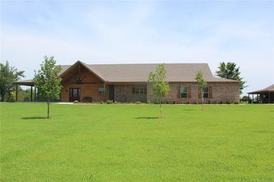 Claremore Single Family Home For Sale: 21385 S 4202 Road