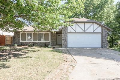 Broken Arrow Single Family Home For Sale: 4502 W Madison Place