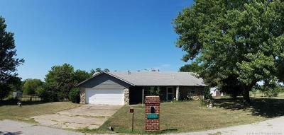 Claremore Single Family Home For Sale: 10707 E Second Street