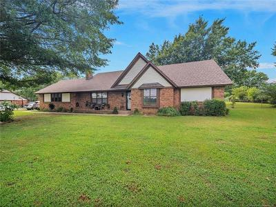 Claremore Single Family Home For Sale: 25556 S 4130 Road