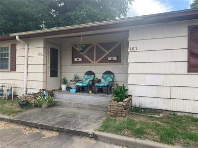 Claremore Multi Family Home For Sale: 105 N Florence Avenue