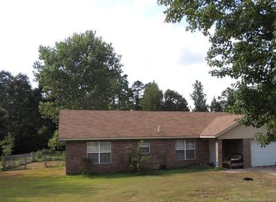 Broken Bow Single Family Home For Sale: 153 Tiger Loop