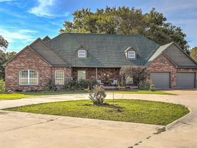 Beggs Single Family Home For Sale: 6490 Alt 75 Highway