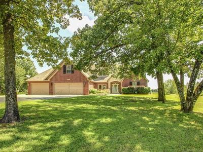 Coweta Single Family Home For Sale: 14951 S 273rd Avenue E