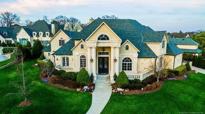 Tulsa Single Family Home For Sale: 10809 S Marion Avenue