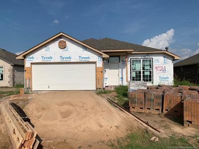 Tulsa Single Family Home For Sale: 4021 S 148th Avenue E