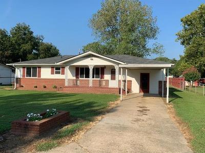 Muldrow Single Family Home For Sale: 906 Enid Street