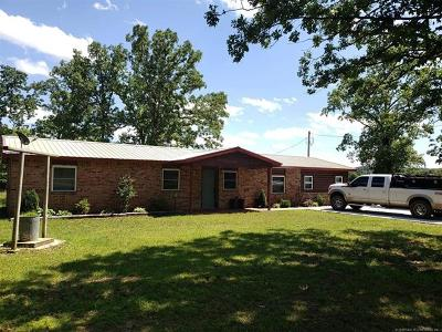 Talihina Single Family Home For Sale: 8357 Highway 63 Highway